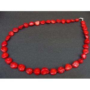 KORÁL-souprava náhrdelník, naušnice