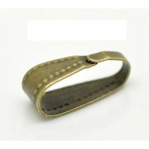 šlupna, barva bronzová, velikost: 9,93x3,4 mm