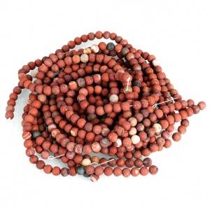 Červený Jaspis, 8 mm, gravír