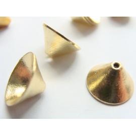 kaplík, barva zlatá