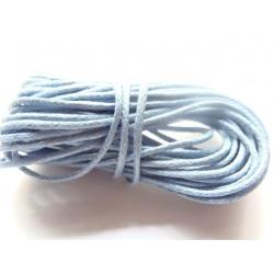 voskovaná šňůra, barva , 4M, šířka 1 mm