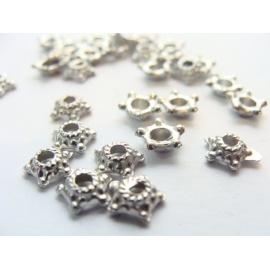 kovový korálek, tybetský styl, kvalitní kov