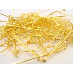 nýtové jehly zlaté 38 mm