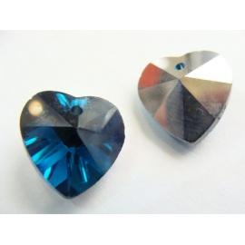 srdce ,tmavě modrá barva