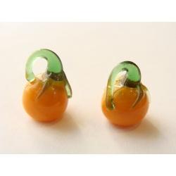 FEFERONKA, oranžovo-zelená, 12x10 mm