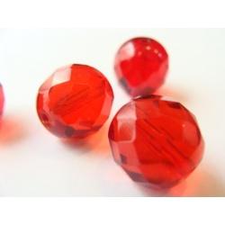 broušené perle, barva, 12 mm