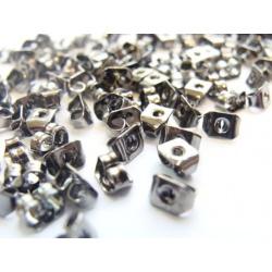 naušnicové zarážky - kovové