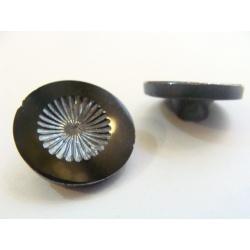 Knoflík skleněný