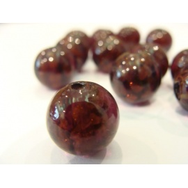 vinutá perle, zapečna zlatem č.2