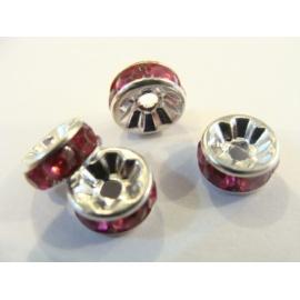 korálek, rondelka, 8 mm,
