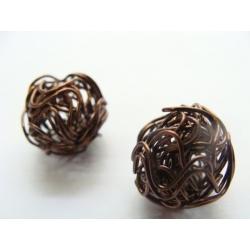 korálky, 18 mm, drátek