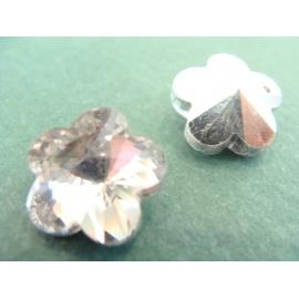 kytička, čirá, postříbřena bílým kovem
