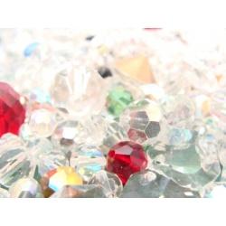 broušené perle - směs
