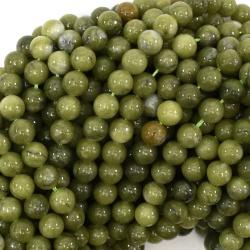 Malajský Nefrit, gravír, 8 mm
