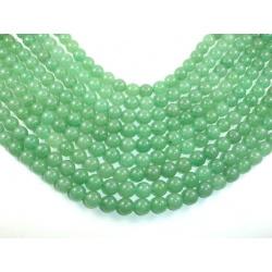 Avanturín, 8 mm,zelený