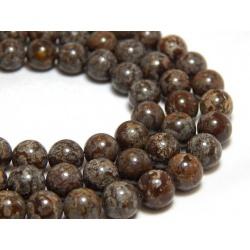 Vločkový Obsidián hnědý, 6 mm