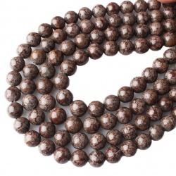 Vločkový Obsidián hnědý, 8 mm