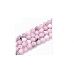 Jaspis růžový, korálek 6 mm