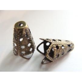kalota, barva bronzová, délka 16 mm