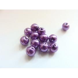 voskové perly, barva  , velikost 4 mm