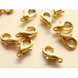 karabina zlatá 10 mm