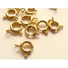 pérové zapínání zlaté 4 mm