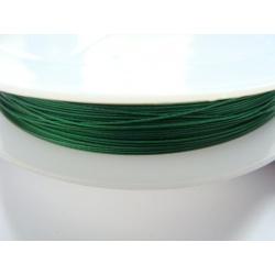 ocelové lanko, barva , šířka 0,38 mm