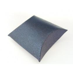 dárková krabička, barva černá se třpytem, 40x55 mm