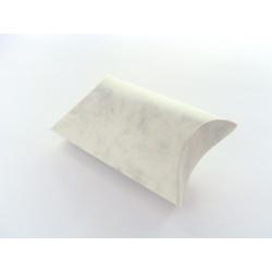 papírová krabička, barva mramorová, 37x40 mm